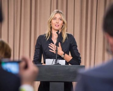 Maria Sharapova - the fallen star