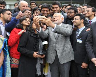#narendra modi - selfie love